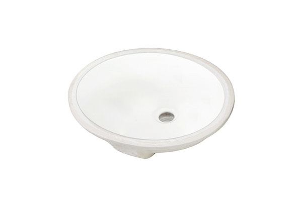 18 X 15 Oval Porcelain Bathroom Sink Silver Lake Sinks